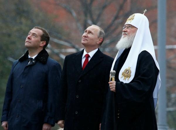 聖三一堂還是聖普京堂? 圖片來源:路透社