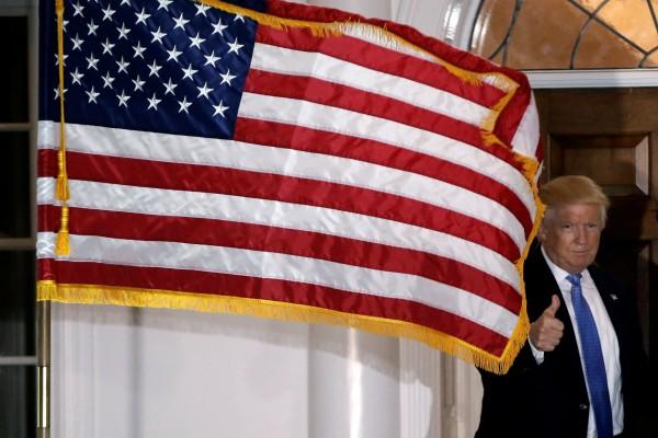 粗俗侮辱言論不但沒有妨害杜林普,反而鋪就了通往白宮之路? 圖片來源:路透社