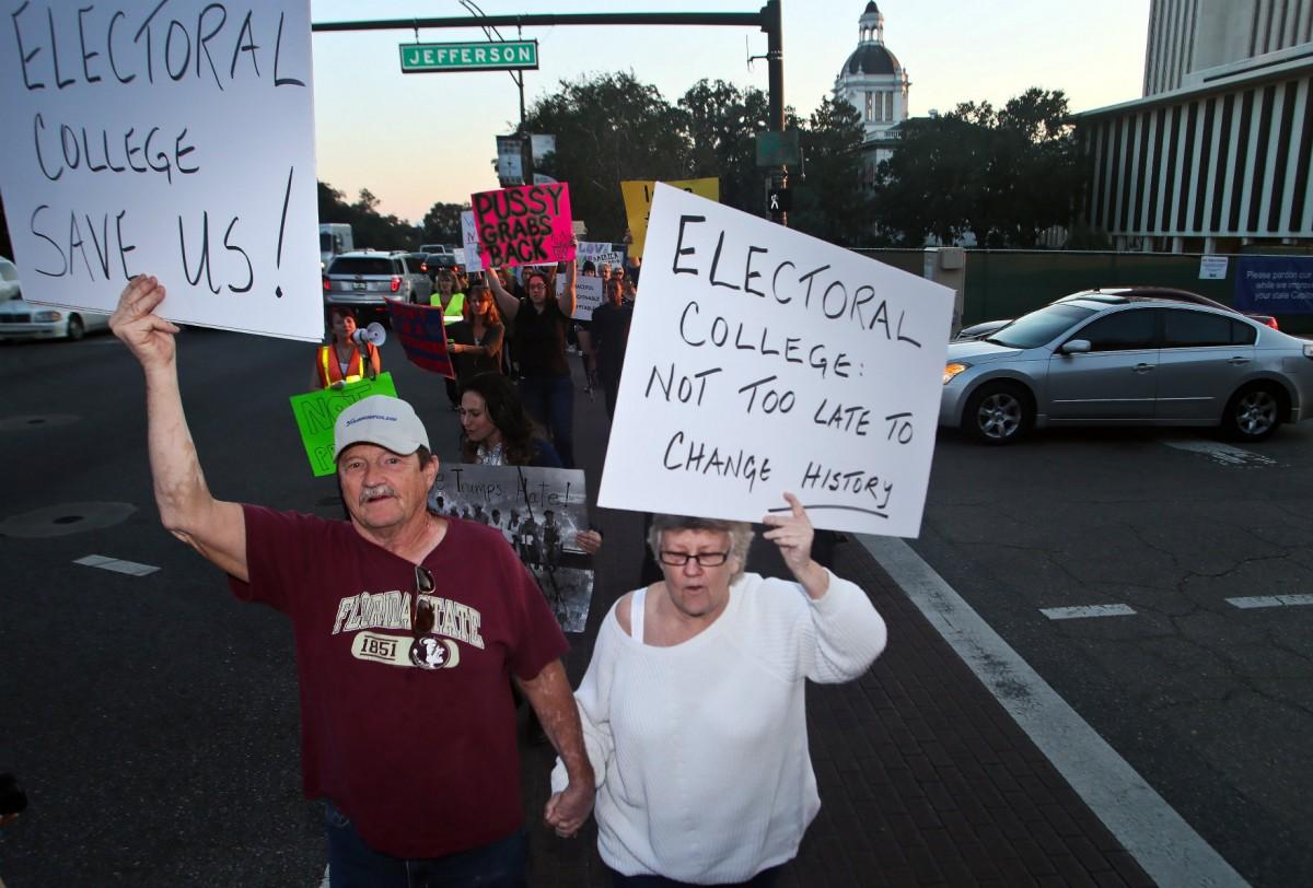 選舉人團能拯救美國人嗎? 圖片來源:路透社