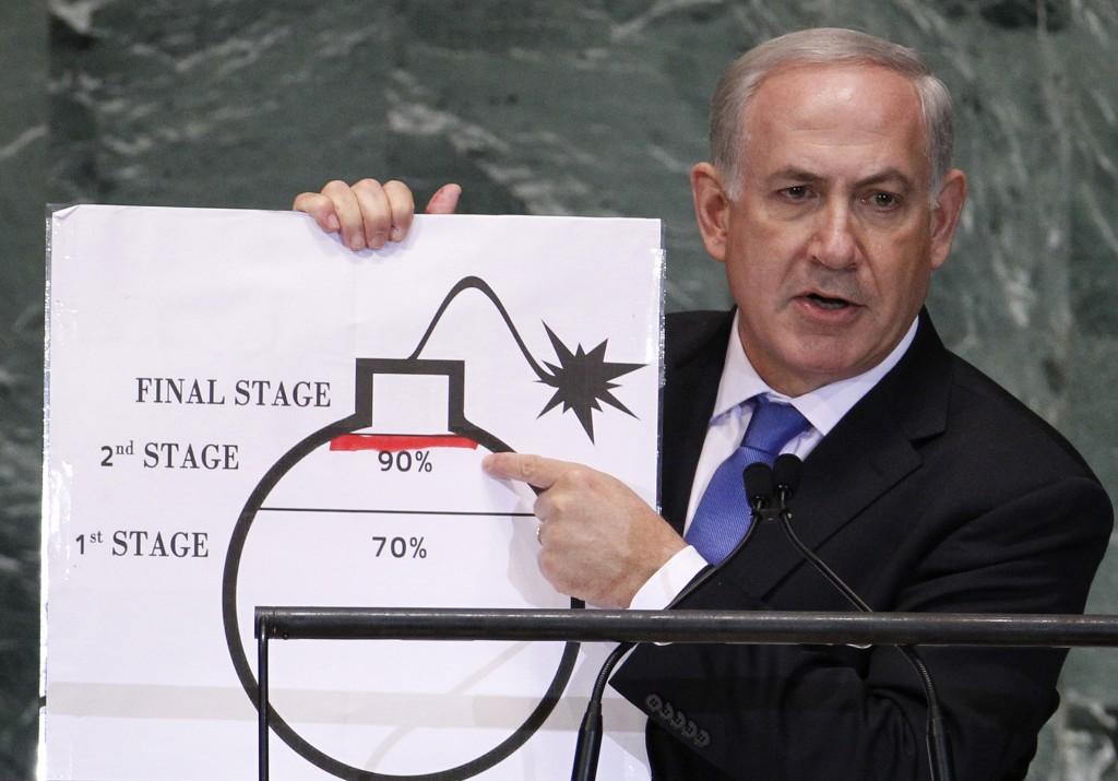 內塔尼亞胡向美國兜售伊朗危機,結果美伊關係改善。 圖片來源:路透社