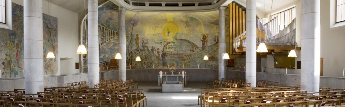 Chapel of the Holy Cross 圖片來源:skogskyrkogarden.stockholm.se