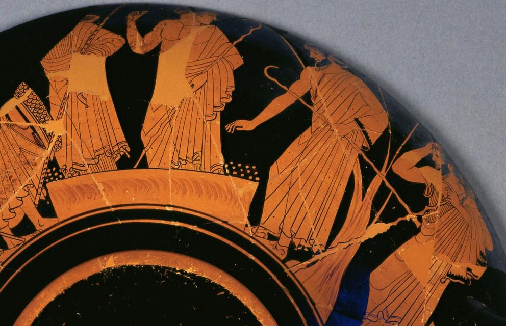 公元前 490 年出品,古希臘人以卵石投票。
