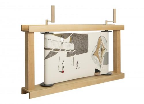 Ross Lewis 作品「卷軸器 No.1」 圖片來源:Inkasia.com
