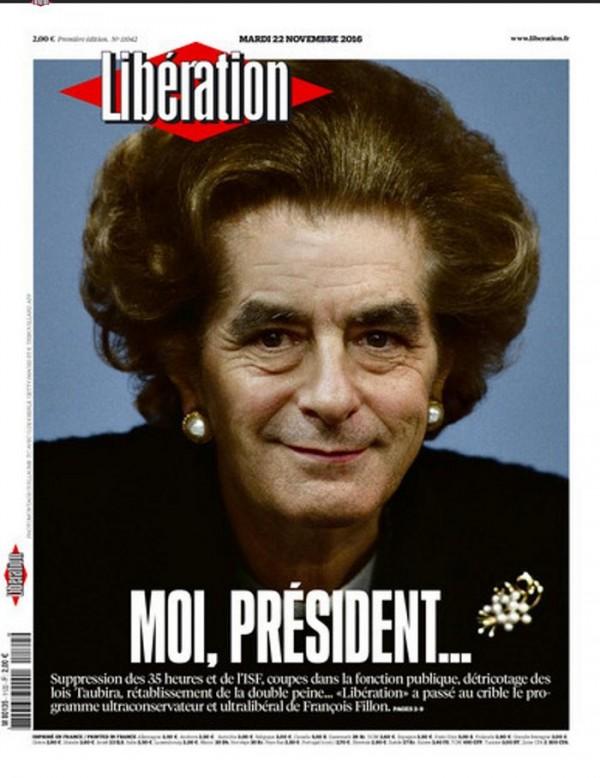 解放報:「法國鐵娘子」菲永。