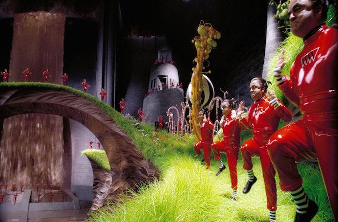 電影「朱古力獎門人」中的歌舞矮人