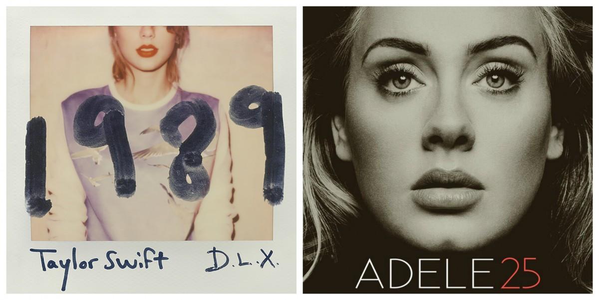 Adele 與 Taylor Swift 只賣實體碟不作串流,CD 逆市大賣。