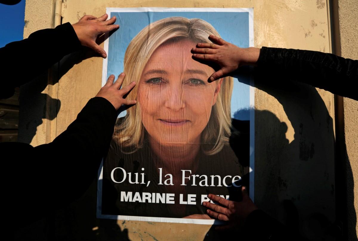 法國人會對勒龐說「好」嗎? 圖片來源:路透社