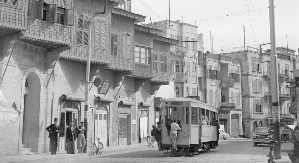 上世紀阿勒頗的市內交通
