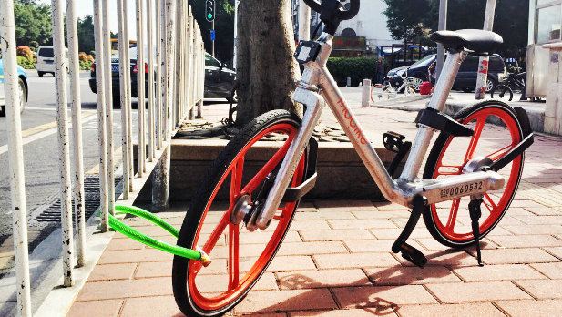 私自上鎖,猶如獨佔共享單車。