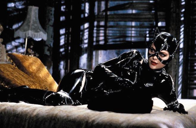 電影「蝙蝠俠再戰風雲」中的catwoman