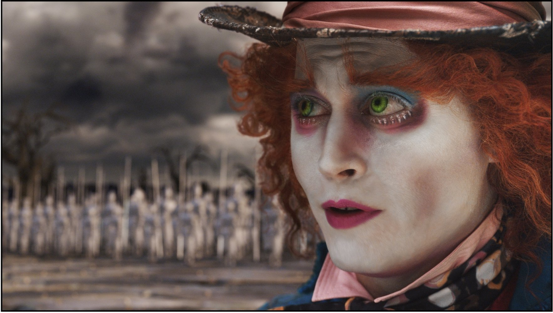 電影「 Alice in Wonderland 」中的瘋帽子先生