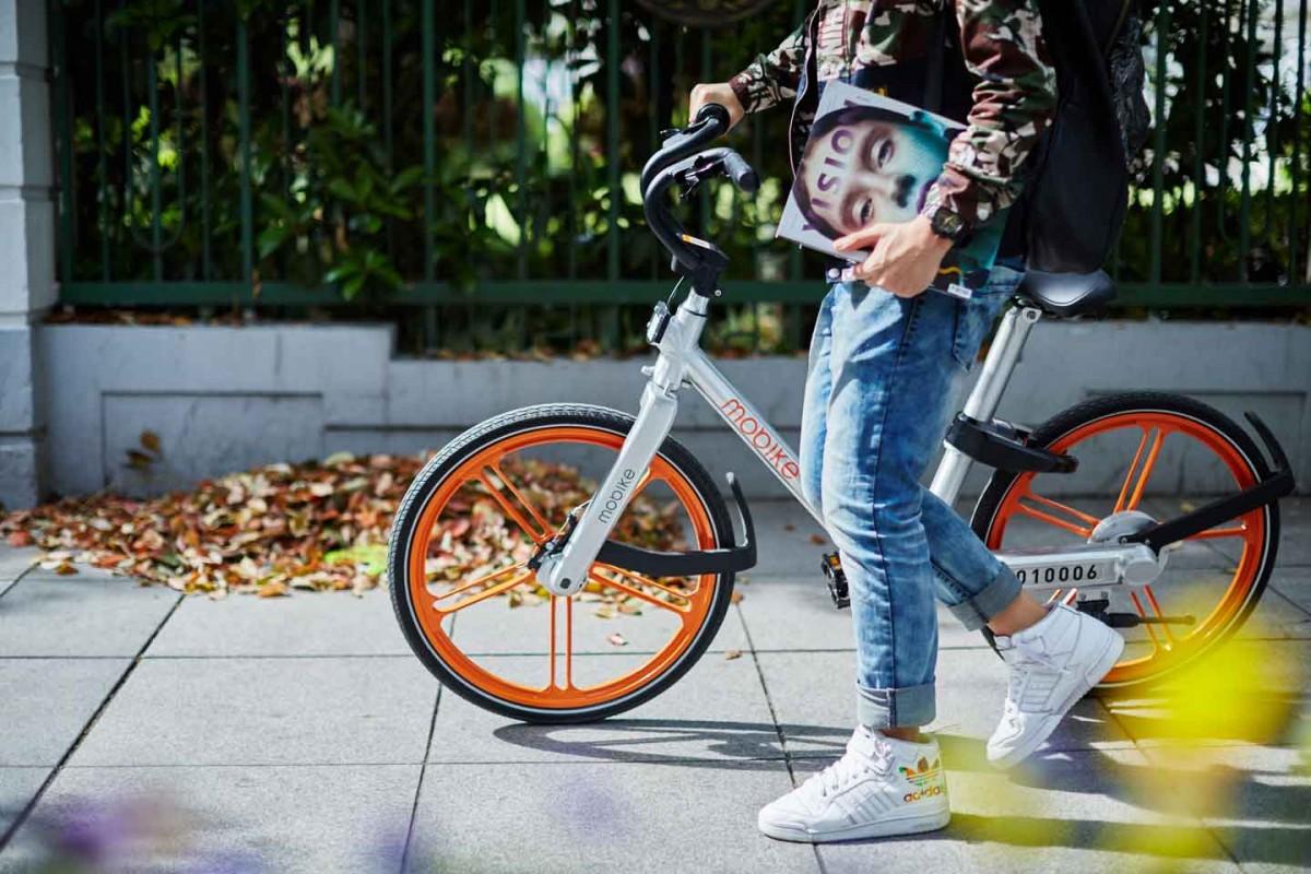 無需定點借車和還車的共享單車,在中國各大城市成新興潮流。 圖片來源:摩拜單車