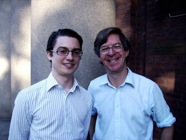 Alan Sokal(右) 圖片來源:Evolving Ideas