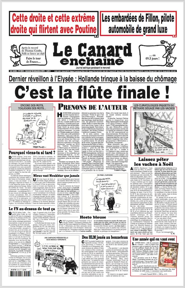 圖片來源:Le Canard enchaîné 網站