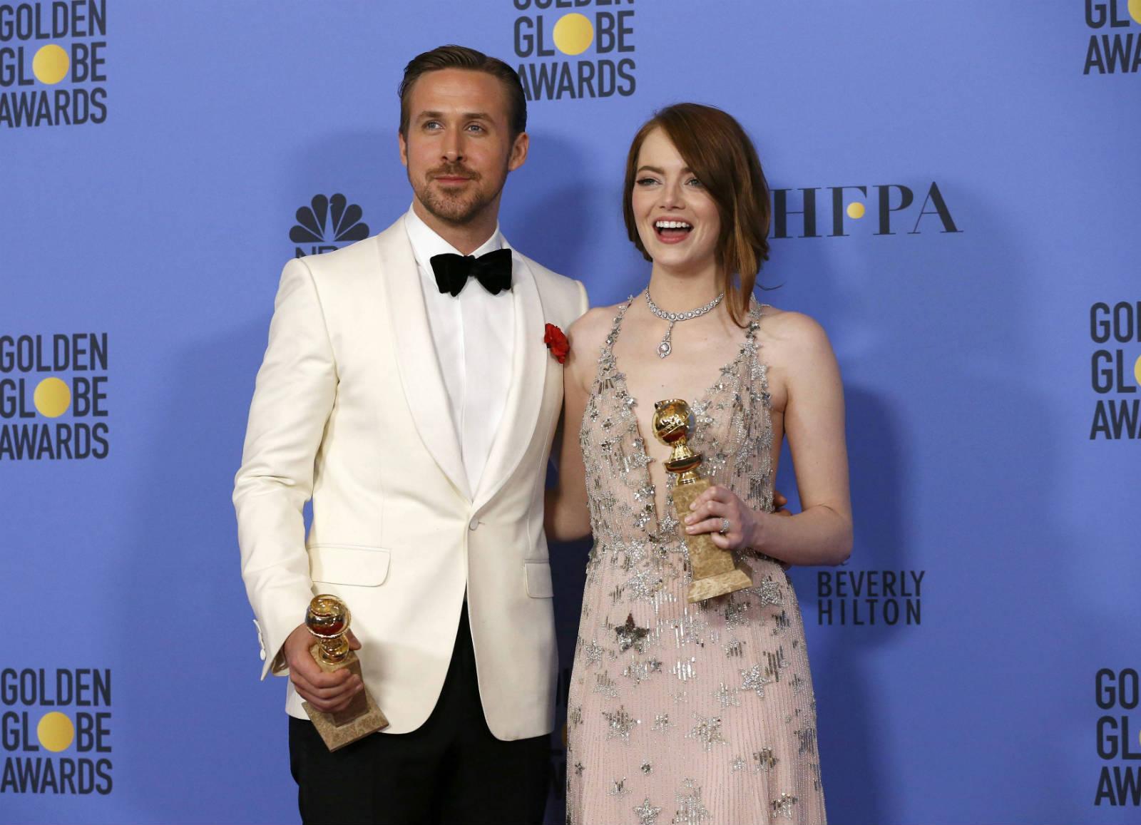 「星聲夢裡人」榮奪 7 個金球奬獎項。 圖片來源:路透社