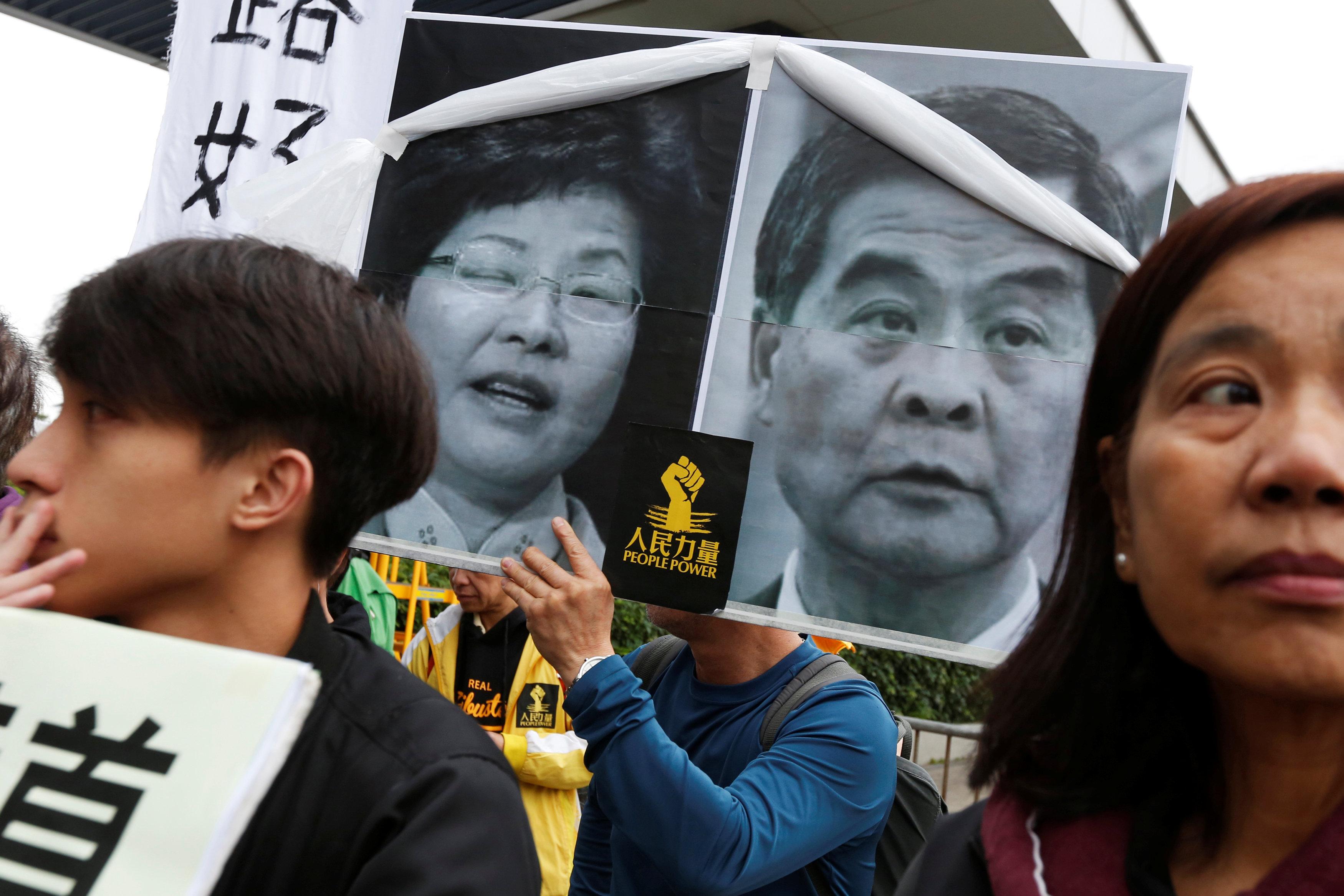 兩人都是好領袖? 圖片來源:路透社