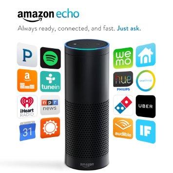 亞馬遜的語音智能 Echo。