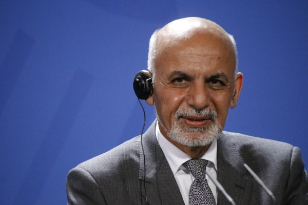 阿富汗總統 Ashraf Ghani