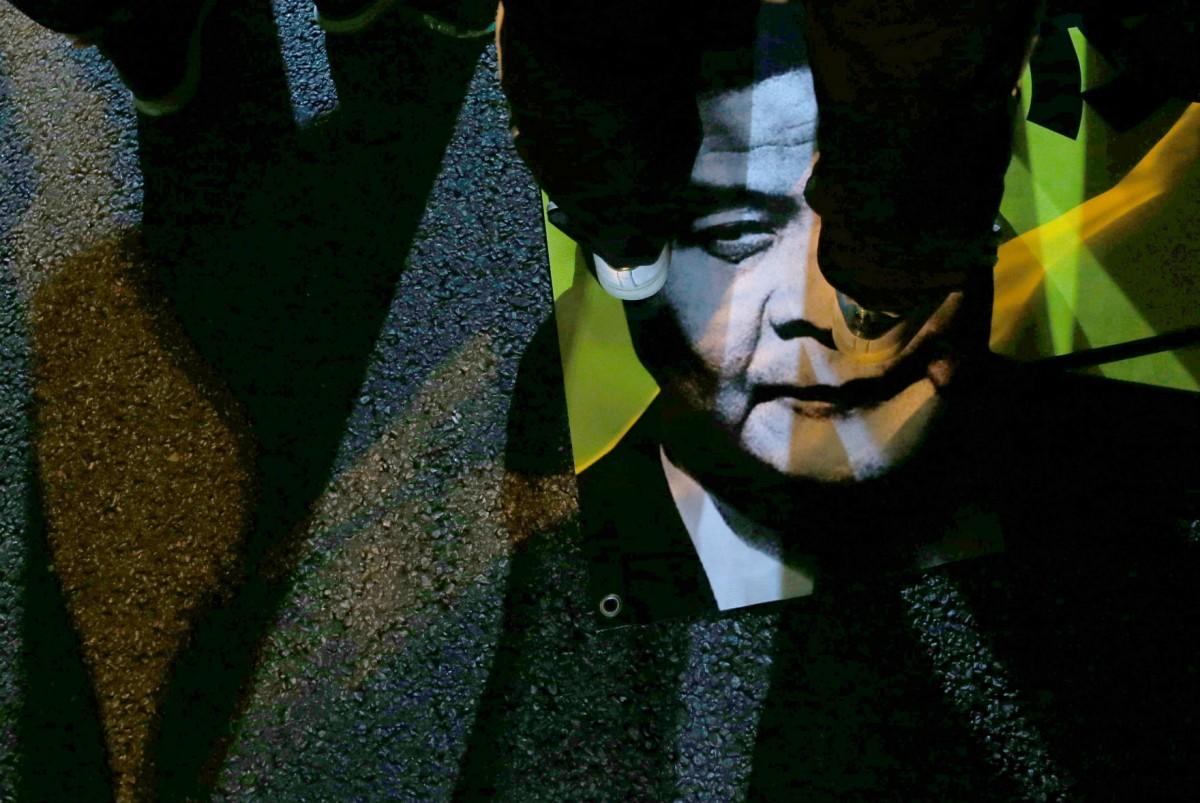 梁振英去年宣佈不尋求連任特首。 圖片來源:路透社