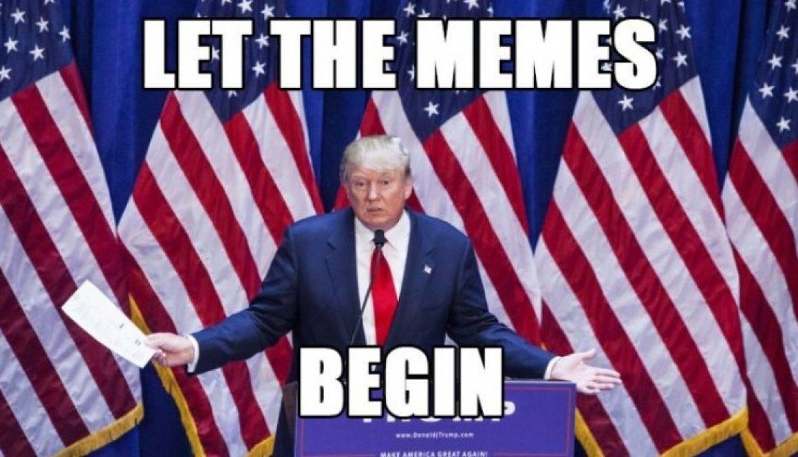 曾有杜林普的網上支持者指杜林普勝選全賴「meme magic」。