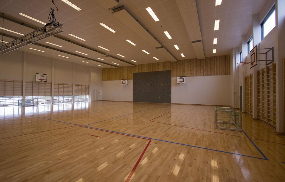 運動場,除了日常運動訓練,還會可來開音樂會和其他娛樂運動。 圖片來源:Teknisk Ukeblad