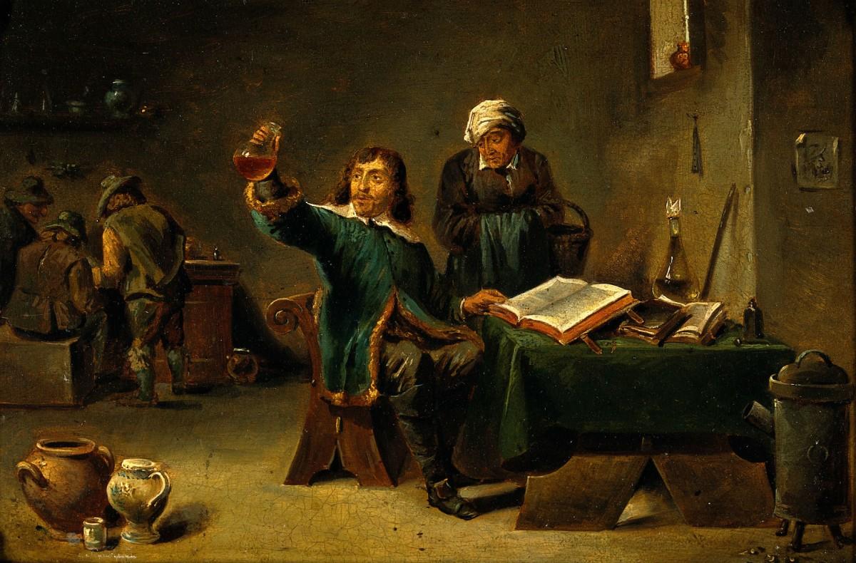 醫師尿診一度盛行在西方古典時期。 圖片來源:Wiki Commons