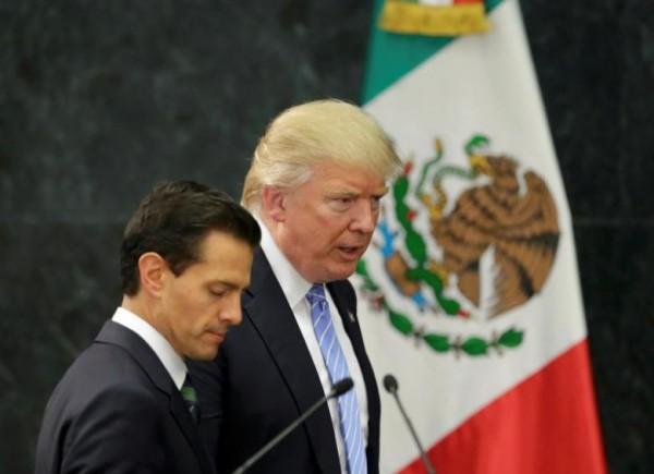 墨西哥總統早前聲明不會為美國邊境圍牆買單。 圖片來源:路透社