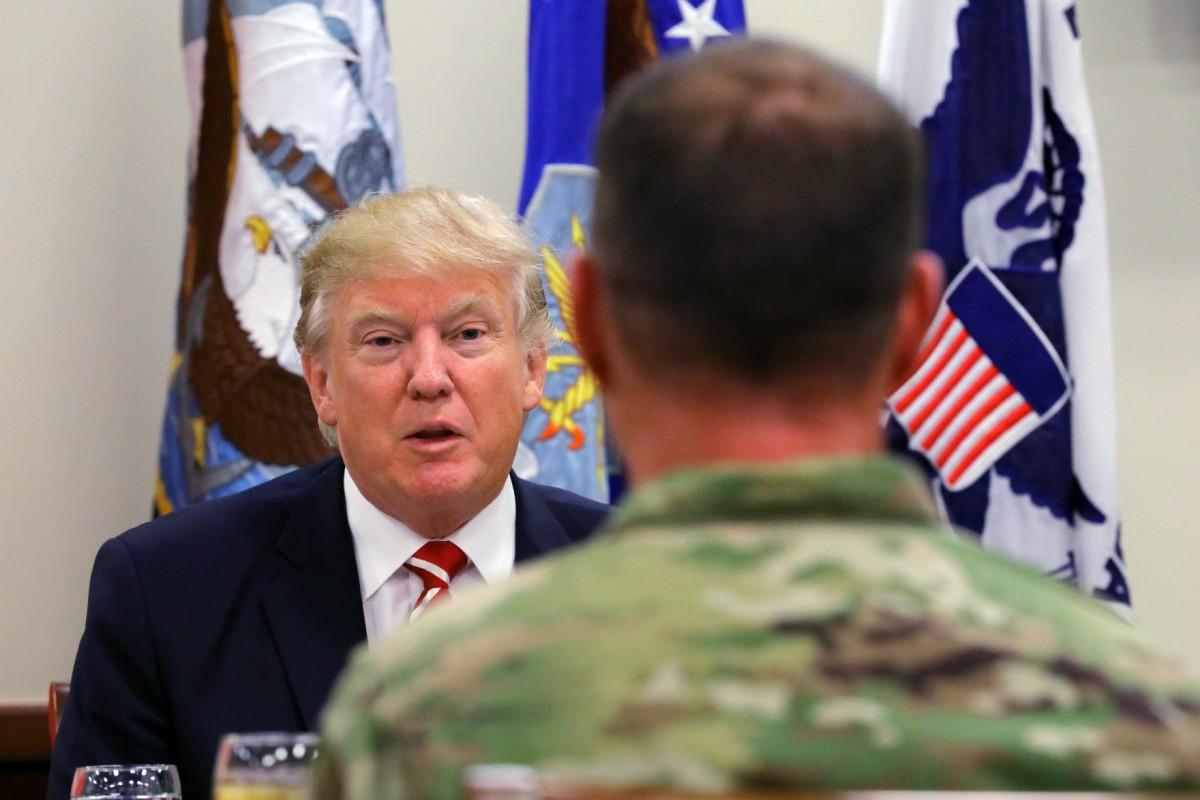 軍事專家嗎?我有問題想問你。 圖片來源:路透社