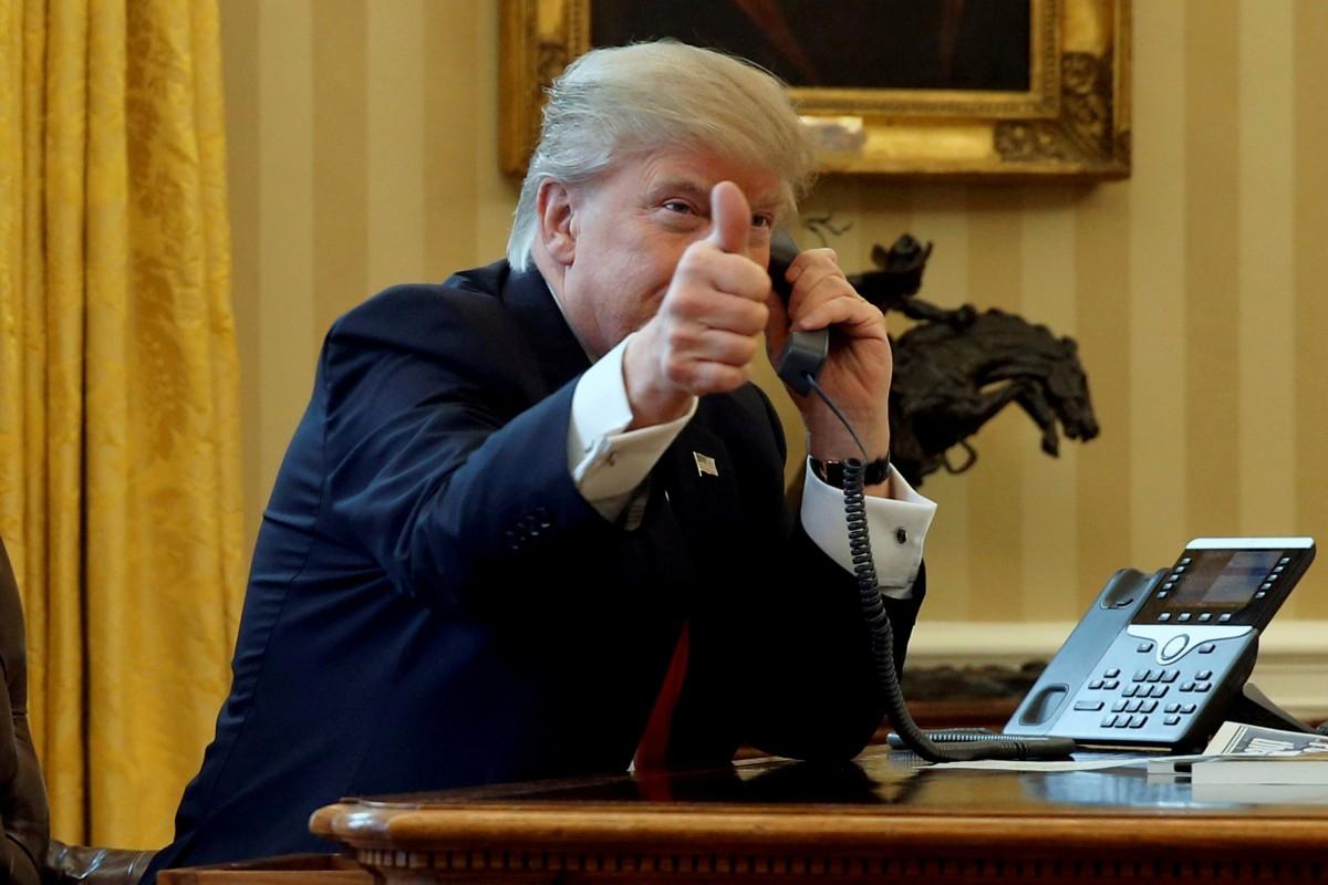 新任美國總統杜林普能否堅守美國民主傳統? 圖片來源:路透社