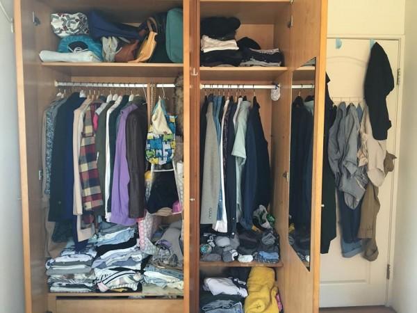 綠色和平去年調查發現,港人平均擁有 94 件衣服,每 6 件有 1 件從未或甚少穿著。
