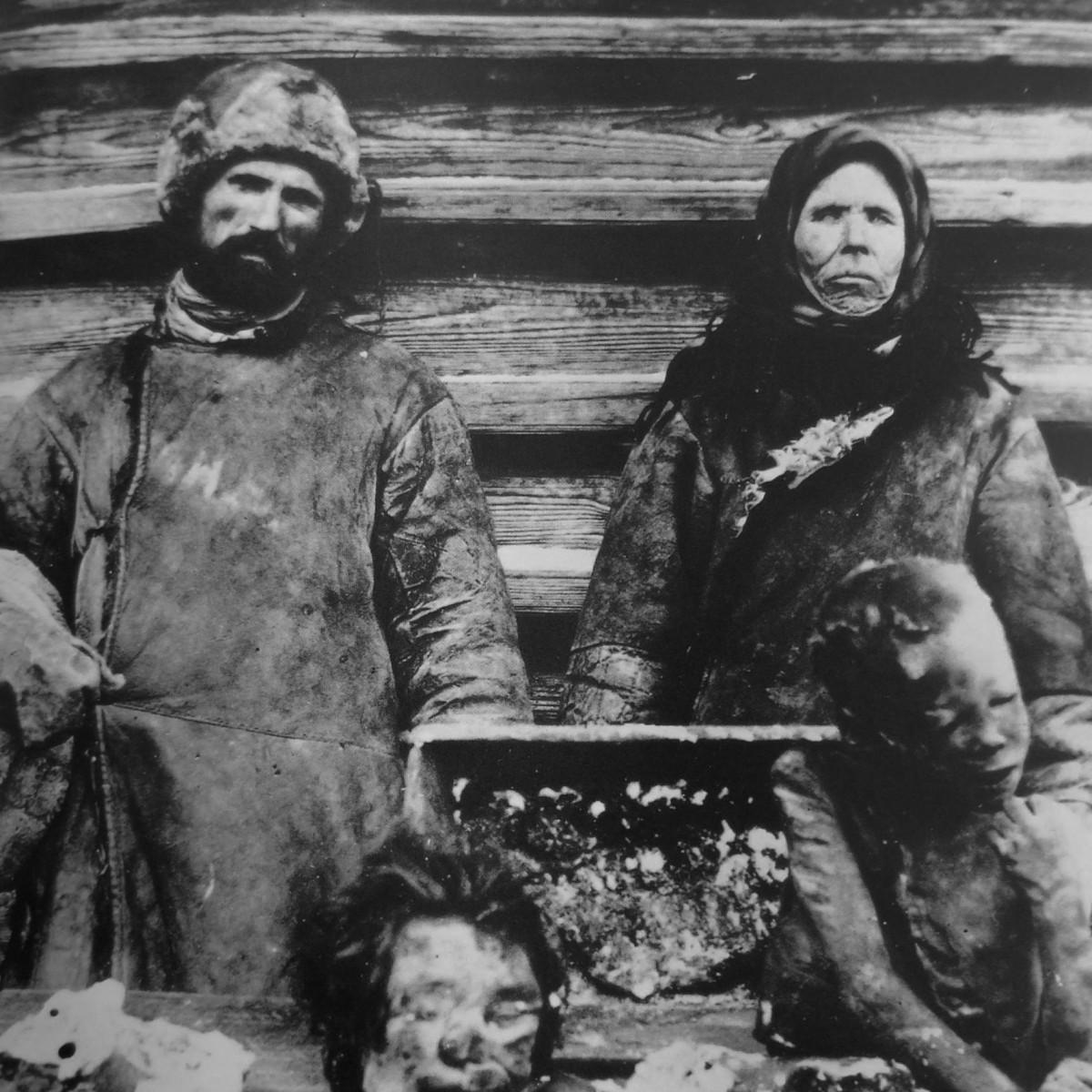 1921 年,蘇聯大饑荒引發人食人慘劇。 圖片來源:維基百科