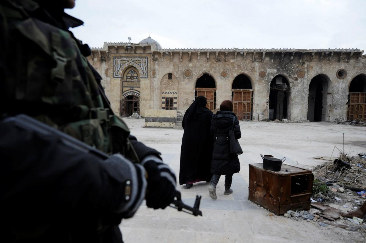 敍利亞「微型世界大戰」? 圖片來源:路透社