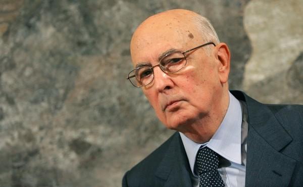 Giorgio Napolitano 2006 年至 2015 年期間擔任意大利總統。 圖片來源:路透社