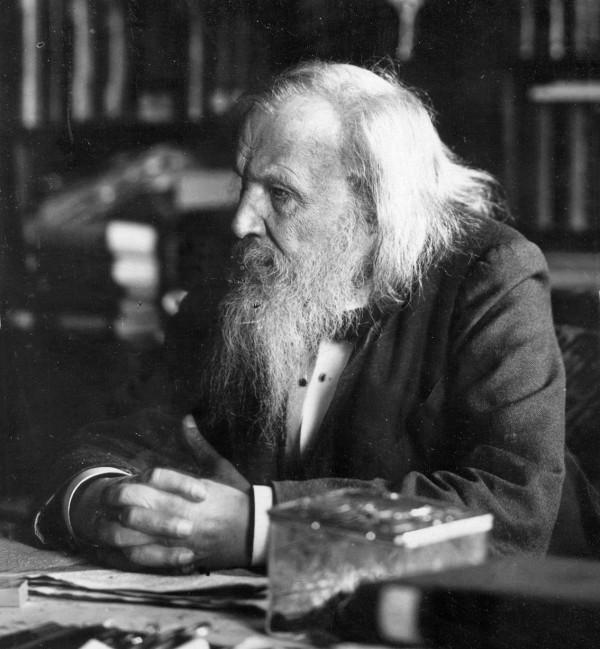 Dmitri Mendeleev,1897 年。 圖片來源:wkipemedia