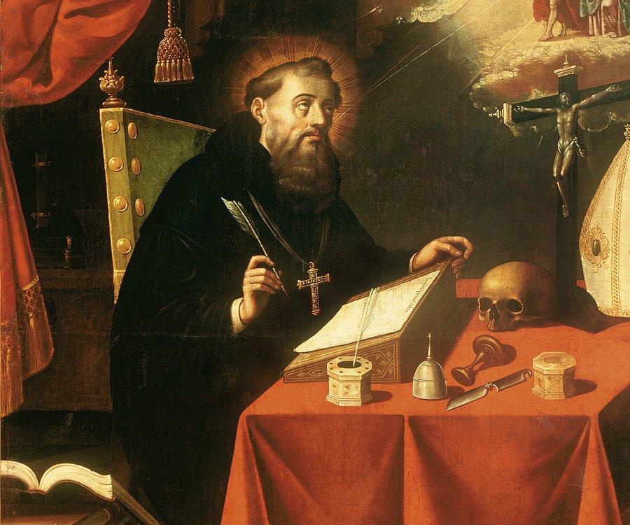 聖奧古斯丁與一名妾侍育有一子,共同生活 14 年之久。