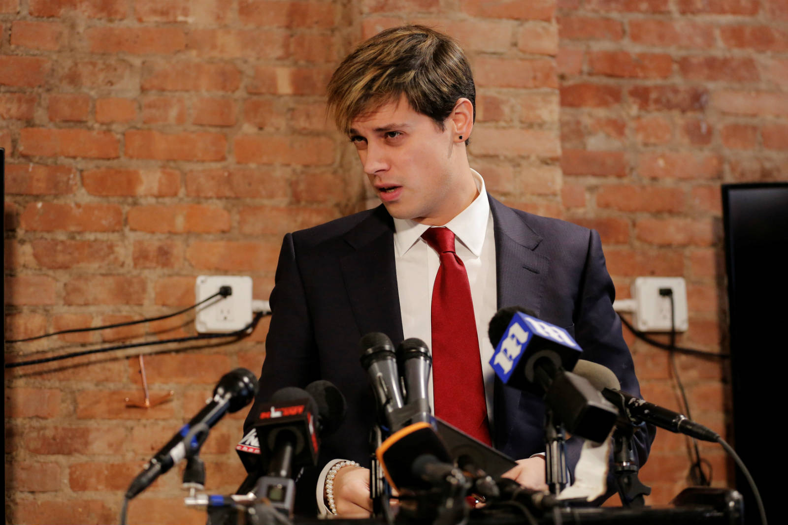 Milo Yiannopoulos 圖片來源:路透社