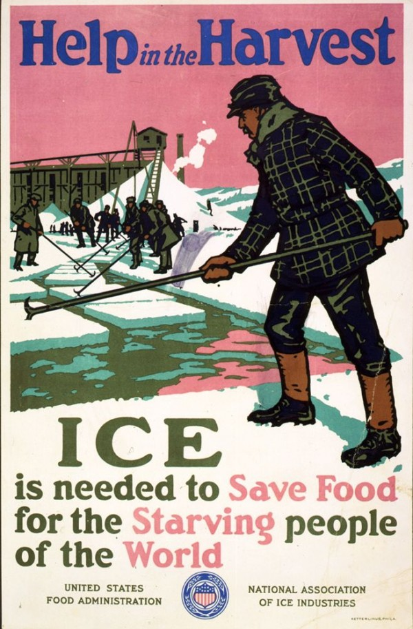 19 世紀美國採冰業成立協會,以宣傳及遊說手段為行業洗白。