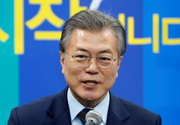 南韓預期 5 月大選,反對黨民主黨的文在寅被視為大熱。 圖片來源:路透社