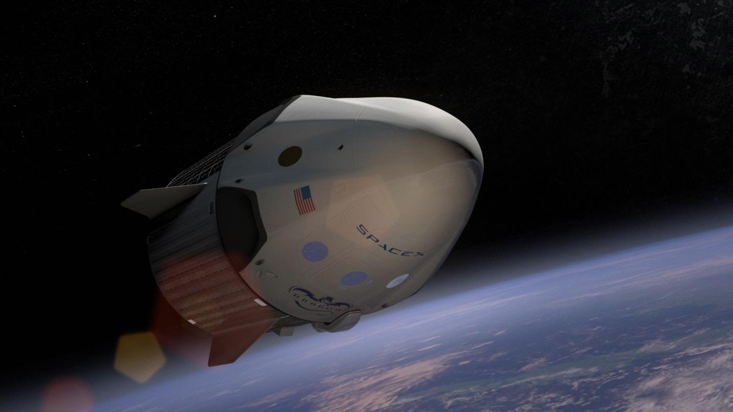 SpaceX 的太空船 Dragon V2