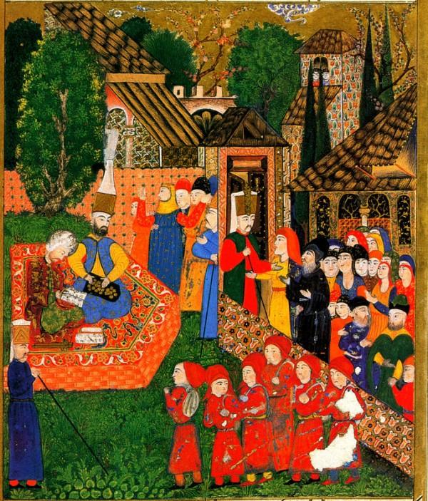 16 世紀鄂圖曼帝國向非穆斯林家庭徵用男童,被稱為「血稅」。 圖片來源:維基百科