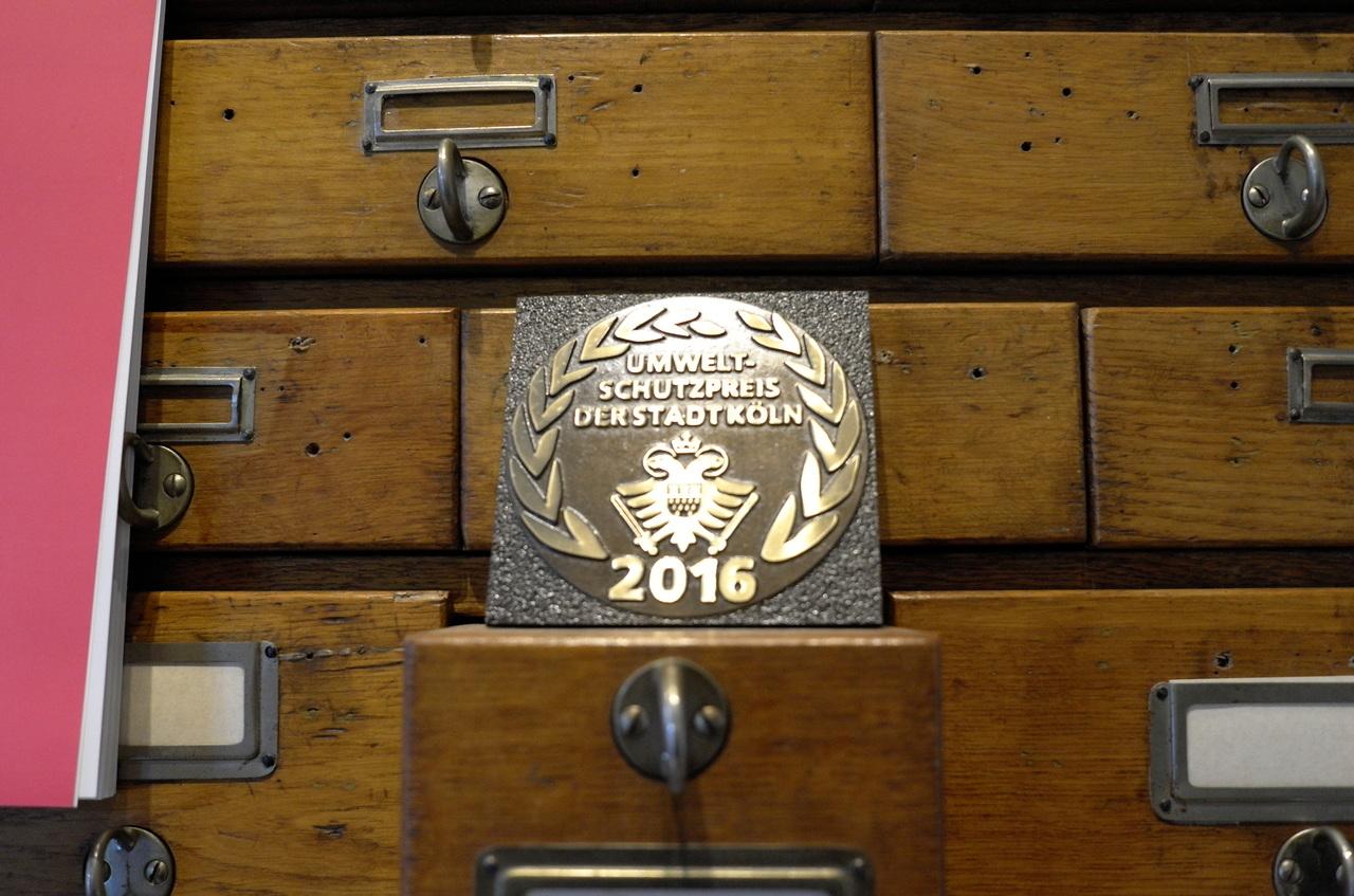 科隆市頒出的環境保護獎