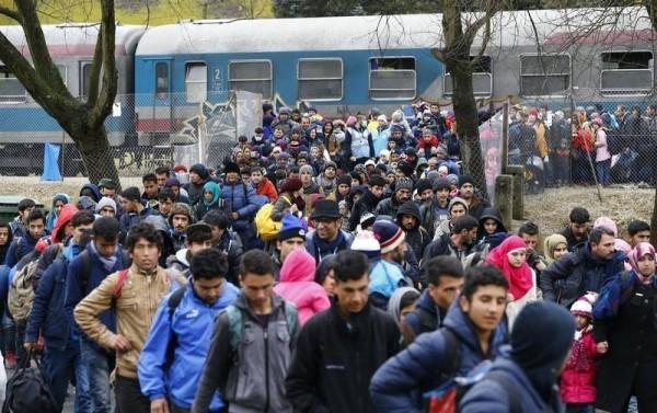 奧地利是難民循巴爾幹路線入歐的中途國之一,過去兩年錄得大量庇護申請。圖片來源:路透社