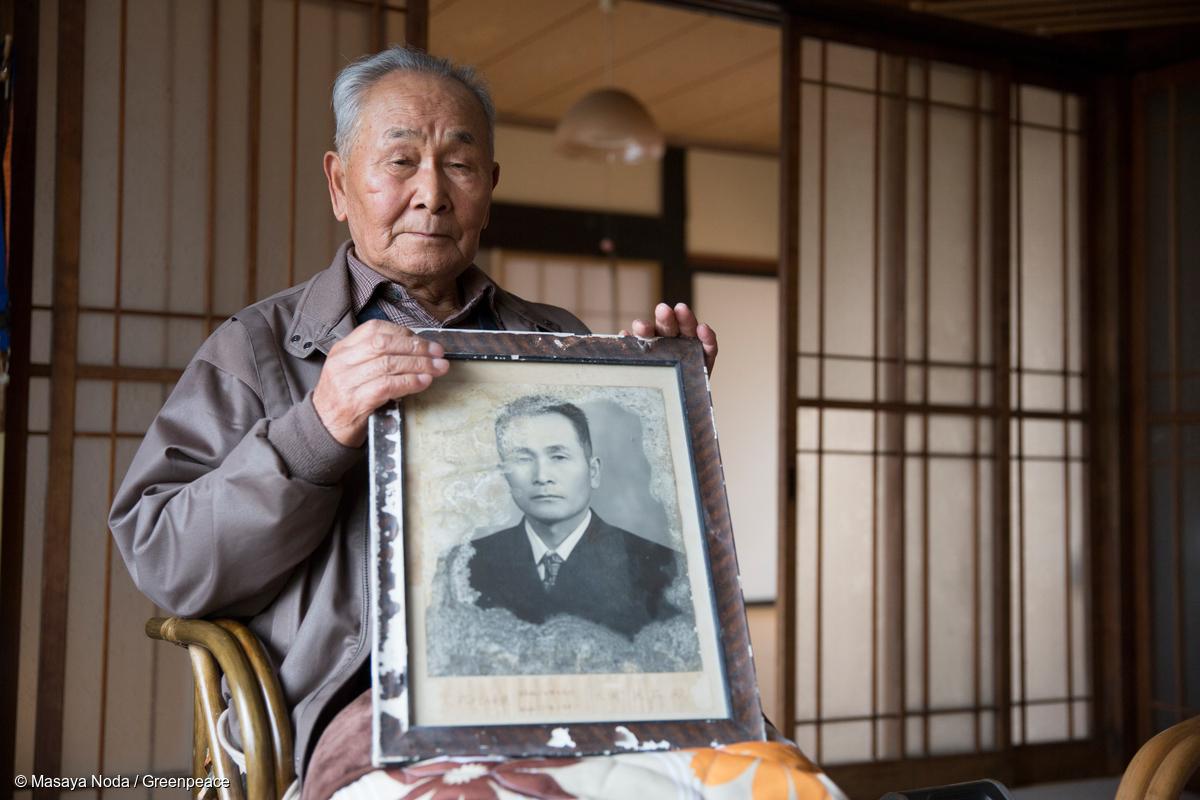 飯館村村民 Kunihiro Miura 直言感到自己被日本政府遺棄。