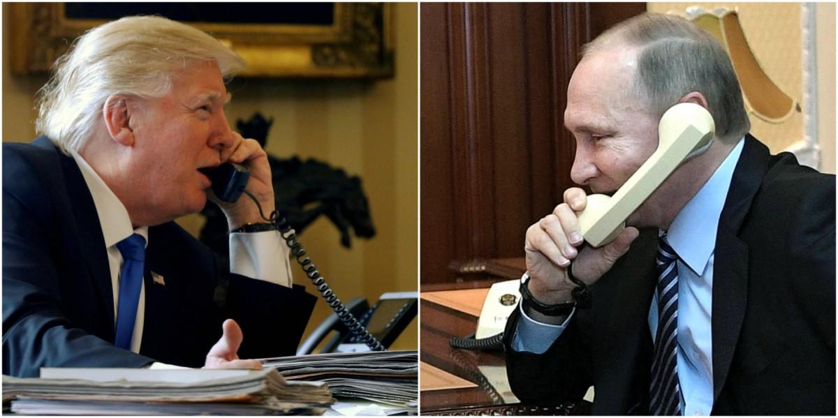杜林普與普京能否修復美俄關係? 圖片來源:路透社