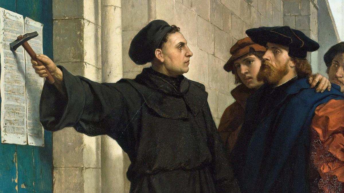 有學者認為,個人自由的觀念起源於 16 世紀宗教改革倡議人馬丁路德。