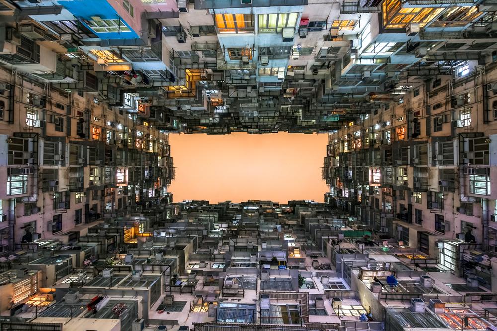 全球樓價之最:香港。