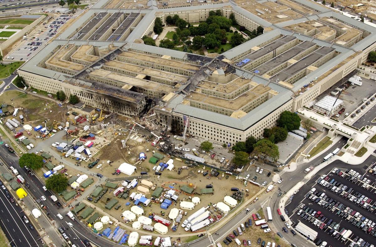 因恐襲而遭破壞的美國國防部五角大廈。 圖片來源:wikicommons