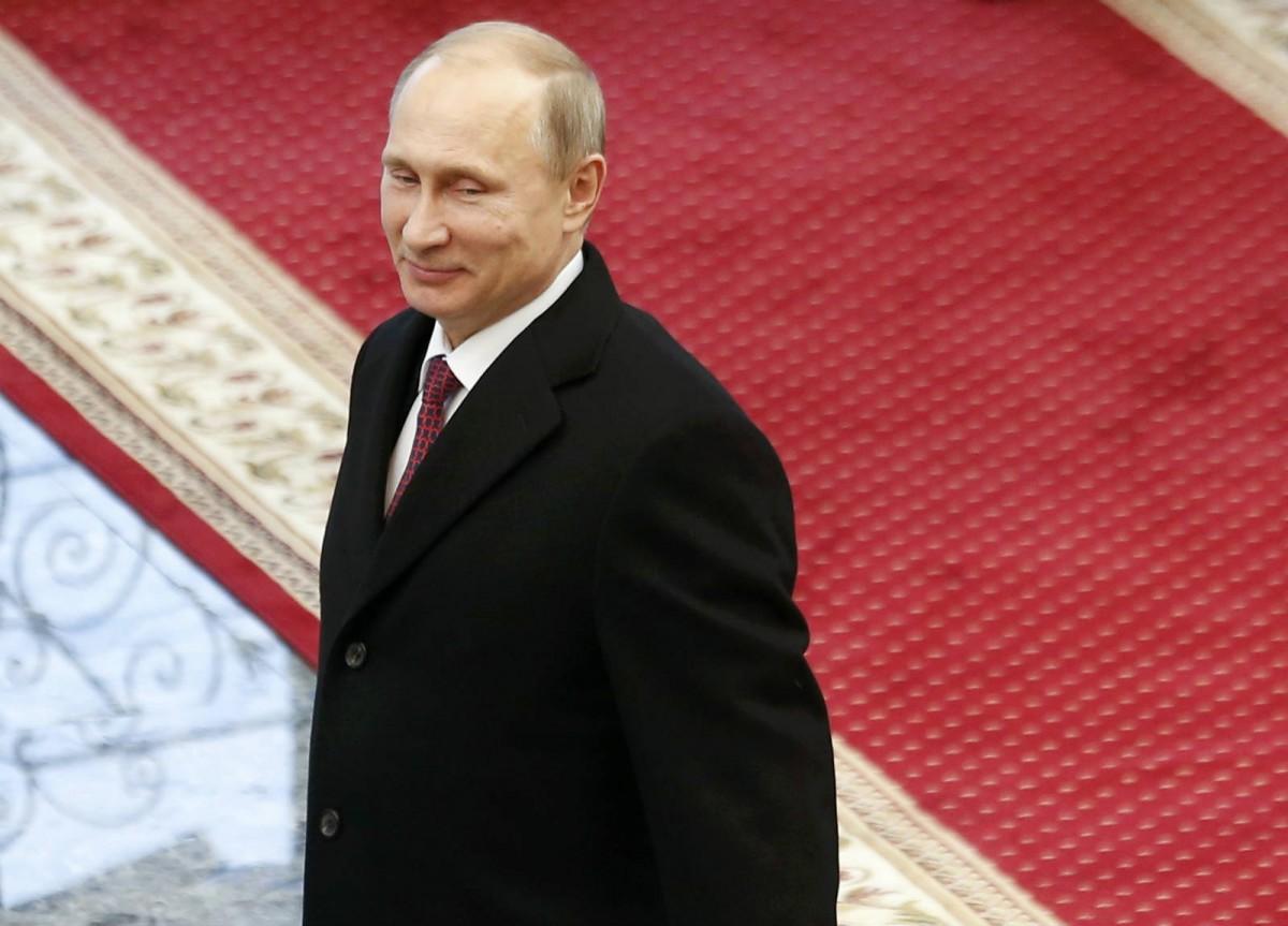 在俄羅斯,無端笑是愚蠢的象徵。 圖片來源:路透社