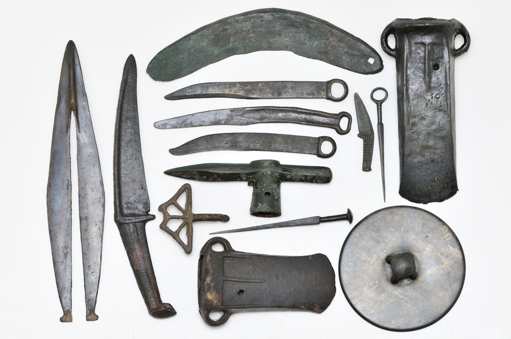 出土於西伯利亞的青銅時代器物。