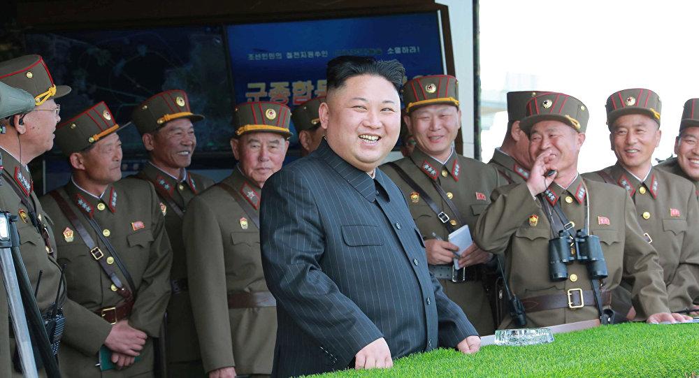 圖片來源:北韓官方中央通訊社